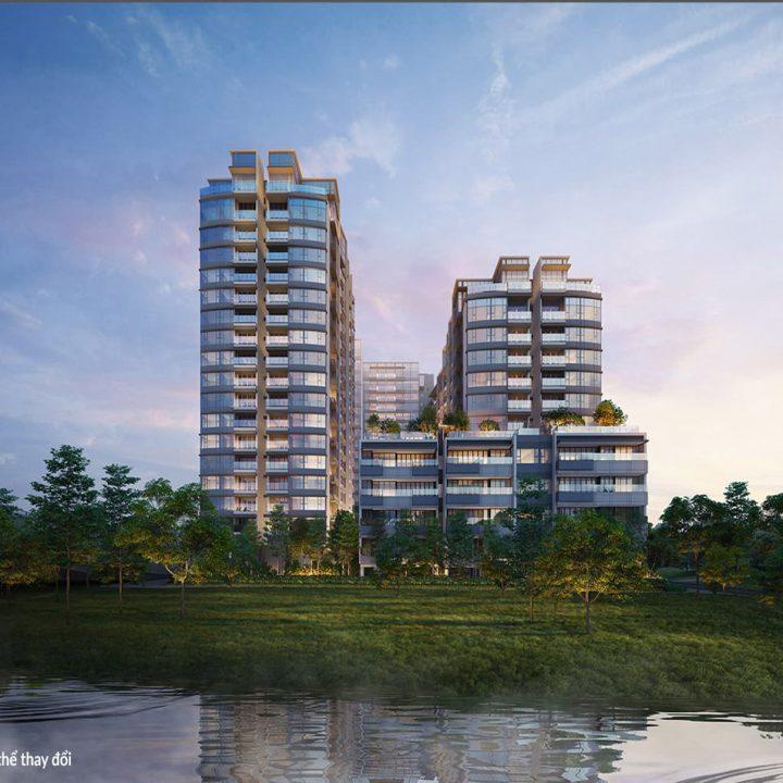 Dự án căn hộ the rriverin thủ thiêm q2