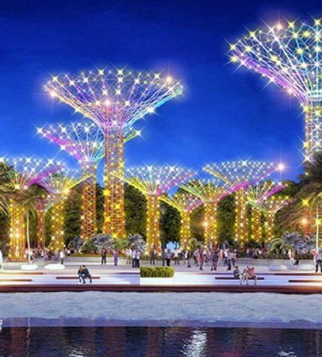 công viên ánh sang vinhomes grand park