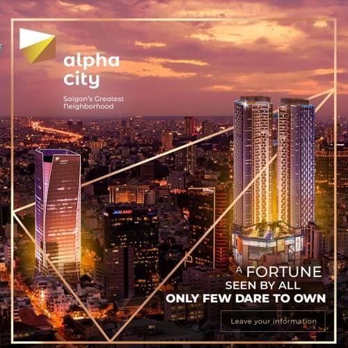 Chủ đầu tư Alpha King mở bán dự án căn hộ Alpha City 87 Cống Quỳnh Quận 1