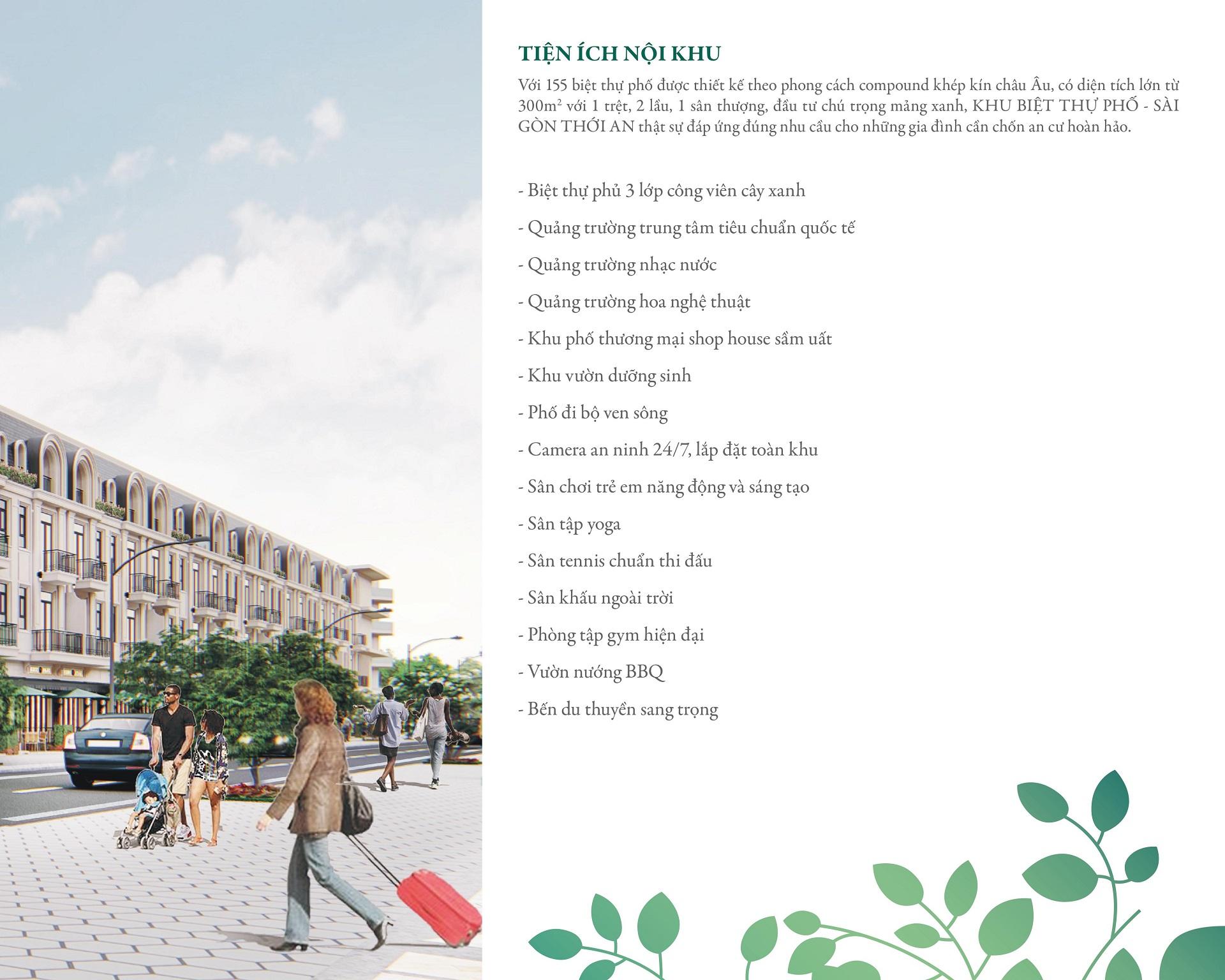 Tiện ích nội khu dự án Pier IX